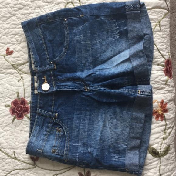 Indigo Rein Pants - Blue Jean Shorts